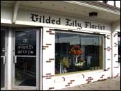Exterior of the Gilded Lily Floral Studio